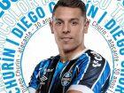 Argentino Diego Churín, de 30 anos, é o novo reforço do Grêmio
