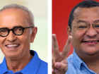 O ex-senador Cícero Lucena (Progressistas) e o radialista Nilvan Ferreira (MDB)
