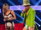 Fernanda Lima ao lado de Bruno Miranda, o 'Borat' do 'Amor e Sexo'