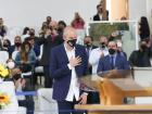 Preferido entre os evangélicos, Bruno Covas (PSDB) visitou igrejas neste domingo
