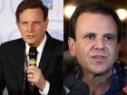 Marcelo Crivella (Republicanos) e Eduardo Paes (DEM) disputam a Prefeitura do Rio de Janeiro