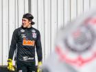 Cássio está em tratamento de contratura muscular no Corinthians