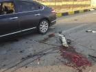 Cena do crime que tirou a vida de Mohsen Fakhrizadeh em Absard, uma pequena cidade próxima da capital Teerã