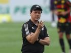 Fernando Diniz durante o jogo do São Paulo contra o Sport, no Morumbi