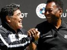 Pelé e Maradona trocaram farpas por décadas até fazerem as pazes em 2016.