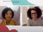 Stephanie Borges e Bernardine Evaristo fizeram a primeira mesa da Flip 2020, realizada no ambiente virtual