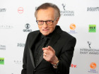 Larry King no International Emmy Awards, em Nova York, em novembro de 2017.