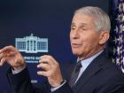 O epidemiologista e conselheiro da Casa Branca, Anthony Fauci