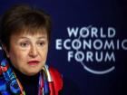 A diretora-geral do FMI, Kristalina Georgieva, no Fórum Econômico Mundial do ano passado