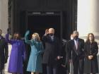 Joe Biden e Kamala Harris chegam ao Capitólio para a cerimônia de posse