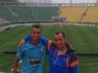 Lucas Braga ia ao estádio como torcedor ao lado do pai, Fabio