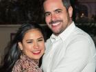 A cantora Simone e o empresário Kaká Diniz tiveram uma filha nesta segunda-feira, 22
