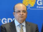 O governador Ibaneis Rocha (MDB)