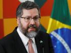 O ministro das Relações Exteriores do Brasil, Ernesto Araújo