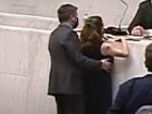 Trecho do vídeo exibido em plenário da Alesp