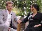 Príncipe Harry e Meghan Markle em entrevista à Oprah Winfrey