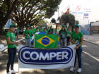 A empresa participa do desfile pelo quinto sétimo ano consecutivo