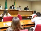 A reunião da CCJR aconteceu na manhã desta terça-feira