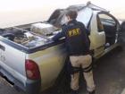 """O passageiro do Civic admitiu que estavam """"batendo"""" a pick up carregada com maconha. A suspeita se confirmou com conversas em um aplicativo de celular entre os ocupantes dos dois veículos."""