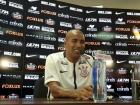 Sem clube desde que deixou a Ponte Preta no final do ano, ele contou que as conversas para retornar ao clube foram rápidas e objetivas e contou com a participação do técnico Fábio Carille