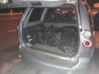 O utilitário tinha ainda ocorrência de furto/roubo em Minas Gerais