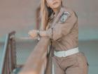 Trabalha o dia todo na rua - ela é agente da Guarda Municipal do Rio de Janeiro- a tarefa não é fácil