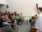 Coordenadora da Escola do Legislativo Ramez Tebet, Cheila Vendrami, disse que o Parlamento Jovem irá despertar o interesse dos jovens pela agenda política e pelo exercício da participação democrática