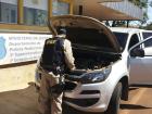 Foi dada a voz de prisão ao condutor, e encaminhado juntamente com o veículo à Polícia Civil de Rio Brilhante/MS