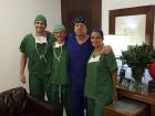 Dr. João Ilgenfritz Neto, dr. Francisco Ilgenfritz, dr. João Ilgenfritz Júnior e dra Elaine Loureiro