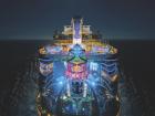 A Royal Caribbean possui cerca de 55% do mercado de cruzeiros internacionais no Brasil, sendo a companhia preferida dos brasileiros