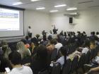 Secretário de Saúde, Marcelo Vilela, falou durante a abertura do evento. (Foto: SESAU).