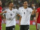 A Alemanha viajou na noite da última sexta-feira, horas depois de empatar com a Espanha por 1 a 1, em amistoso jogado na cidade de Düsseldorf