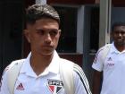 Gabriel Maia foi relacionado no São Paulo para um jogo do Paulistão