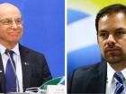 Os secretários Salim Mattar (Desestatização e Privatização) e Paulo Uebel (Desburocratização) - fazem a curva de juros inclinar, com alta maior nos longos.