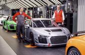 Totalmente integrado: o 50º Audi R8 LMS GT4 é produzido em Böllinger Höfe