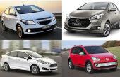 Os 10 carros sem embreagem mais baratos do Brasil