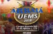 Arraiá da UEMS de Campo Grande será nesta quinta-feira
