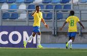 Com gols de Rodrygo, Brasil vence a 1ª no Sul-Americano Sub-20