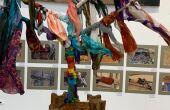 Em nova fase, artista plástica fez pré-abertura da exposição