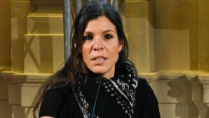 A cientista política Daphne Halikiopoulou em evento na Itália