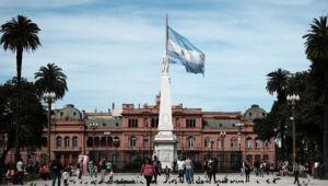 Casa Rosada, na Argentina