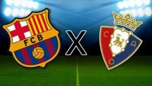 Barcelona goleia o Osasuna no Camp Nou