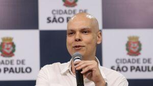 O candidato Bruno Covas