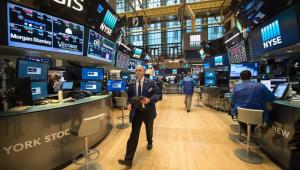O Dow Jones subiu 0,35%, aos 30.173,88 pontos