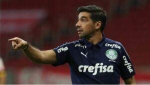 Abel Ferreira, técnico do Palmeiras