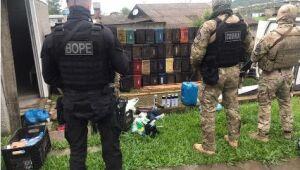 Polícia encontra local que teria sido usado por criminosos em Três Cachoeiras (RS)