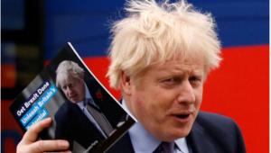 O primeiro-ministro do Reino Unido, Boris Johnson