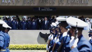 Cerimônia de comemoração dos 80 anos do Comando da Aeronáutica