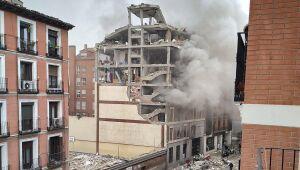 Forte explosão no centro de Madri