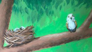 Ambientes infantis e outros nem tanto recebem leveza com ilustrações em aquarela